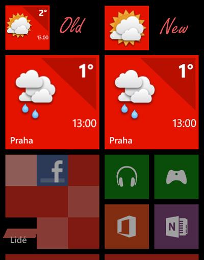Meteoservis 2.15 - drobná vylepšení pro Windows Phone 8 a 7.8
