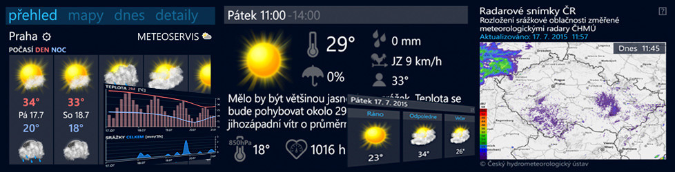 Meteoservis pro Windows Phone